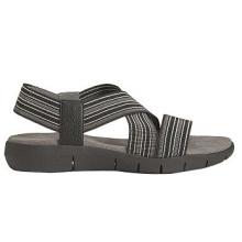 Strappy Design Faux cuir ouvert Toe Sandales de sport