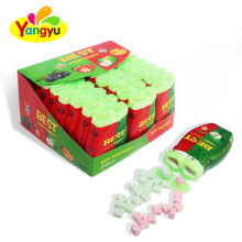Cheap Double Fruits Flavors Letter Candy