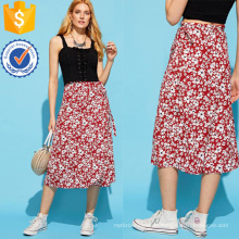 Calico Print Rock Herstellung Großhandel Mode Frauen Bekleidung (TA3083S)