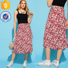 Calico Print Skirt Manufacture Wholesale Fashion Women Apparel (TA3083S)