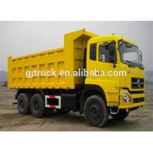Camión volquete 6X4 Dongfeng para el transporte de material de construcción