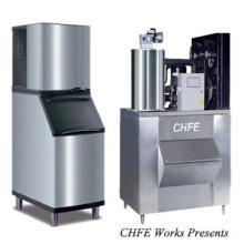máquina de hielo de la escama de cubo 2011