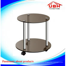 Multifunctional Tempered Glass Coffee Table