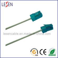 Cable de comunicación y cable telefónico redondo