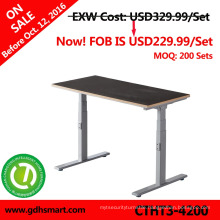 intelligent lift desk Sit and stand height adjustable table computer desks