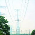 220kV Circuito de Doubule Torre de Transmisión de Potencia Tangente