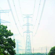 220kV Doubule Circuito Tangente Torre de Transmissão de Energia