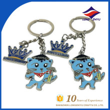 Wholesale high quality cartoon enamel keychain form China