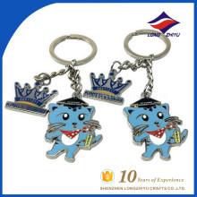 Wholesale high quality cartoon enamel keychain form China
