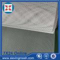 Treillis d'aluminium élargi pour façade