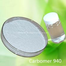 Carbopol Carbomer 940 para desinfetante para as mãos