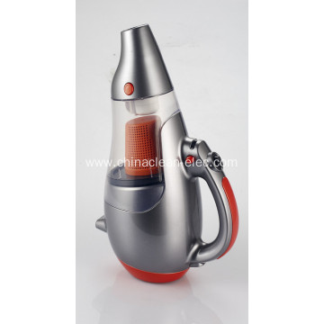 silvery-grey lightness handheld vacuum cleaner