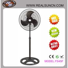 Completo ventilador industrial negro para el mercado de África