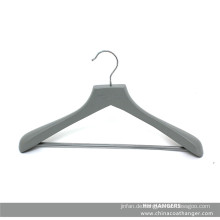 Marken-grau Holz Kleiderbügel für Anzug mit Hose Bar