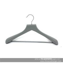 Da marca cinza cabide de madeira para terno com barra de calças