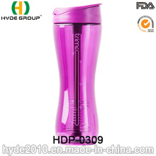 2016 neu heißer Verkauf Kunststoff Shaker Flasche (HDP-0309)