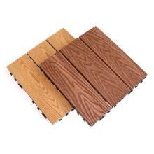 300*300mm DIY Wood Plastic Composite WPC Decking Floor Tile