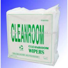 cleanroom microfiber wipe
