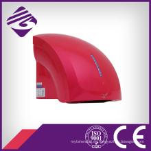 Rojo montado en la pared pequeño ABS automático secador de manos (JN70904C)
