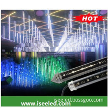 DMX Clear RGB 3D vertical tube disco