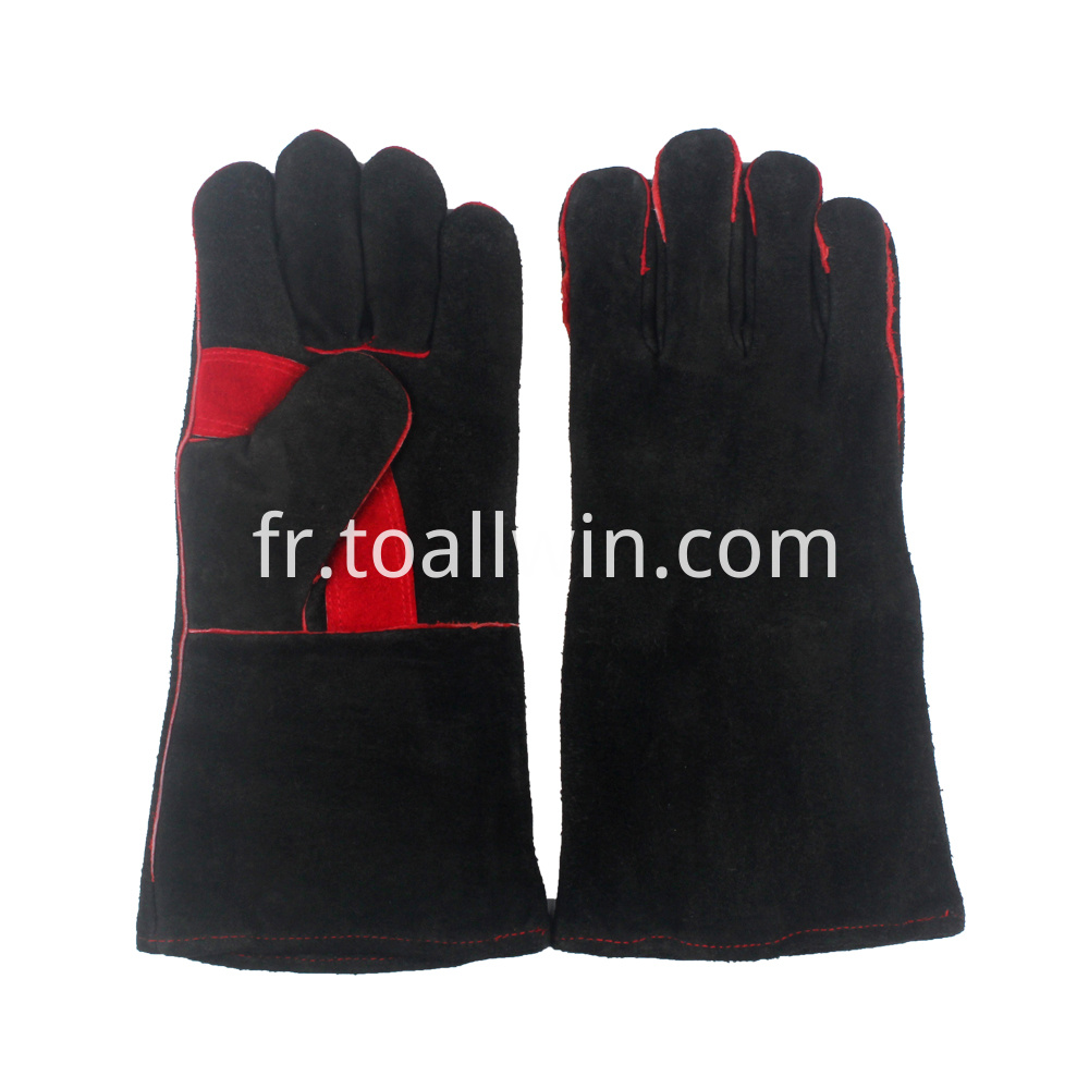Leather Fireplace Gloves