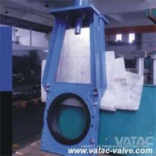Ferro fundido DIN / Válvula de lama de ferro fundido dúctil sob Pn10 / Pn16