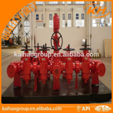 API oilfield wellhead chock manifold and kill manifold
