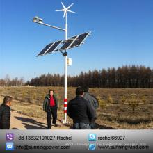 300W Wind Turbine Wind Solar CCTV Monitoring-System