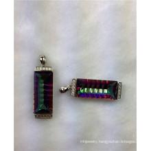 Jewellery-Mystic Quartz Sterling Silver Pendant (P1388)