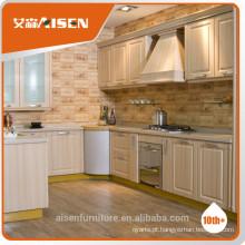 Armário de cozinha pvc armário de cozinha para móveis de casa