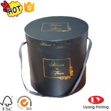Мода круглый цветок шляпа подарочная коробка упаковки