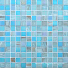 20*20mm Golden Line Mosaic Wall Tile, Glass Mosaic