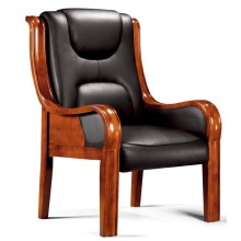 Luxus dicke Polsterung Antike lange Sitzmöbel Komfortable Konferenz Stuhl