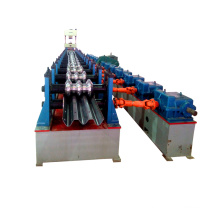 China manufecturing high road way guard w shape crash barrier bar plate highway guardrail automatic making machine