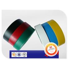 Fita autoadesiva colorida da isolação do PVC