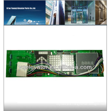 hitachi elevator display board, photo display boards, elevator car control board