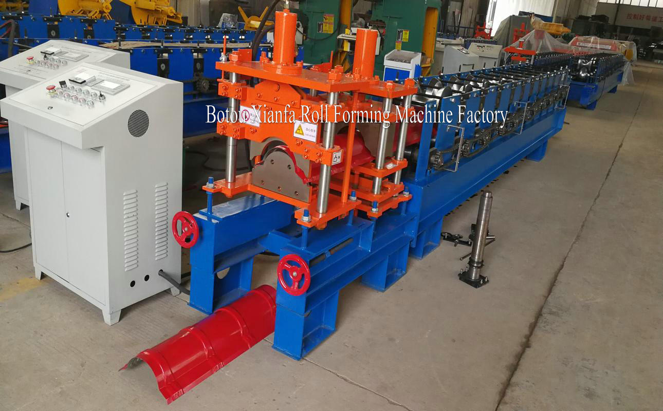 roof tile ridge cap forming machine