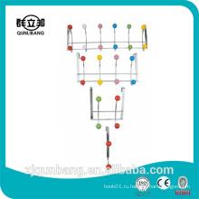 Металлическая подвеска для домашнего продукта с цветными керамическими бусинами