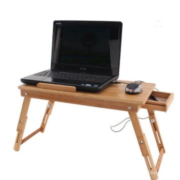 China al por mayor de bambú barato escritorio de la computadora al por mayor