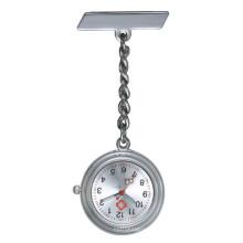 Reloj del cuarzo del acero inoxidable de la moda para el reloj del regalo de la enfermera para la enfermera (HL-CD013)