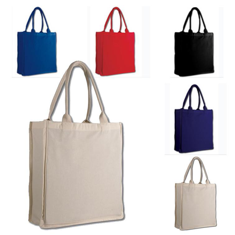 your pure colorful canvas bag