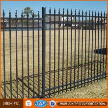Ornamental Security Tubular Steel Fence