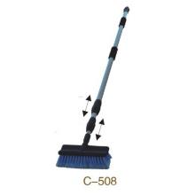 Trois brosse de nettoyage télescopique