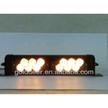 Led de luz estroboscópica de color ámbar 12V emergencia Dash (SL761)