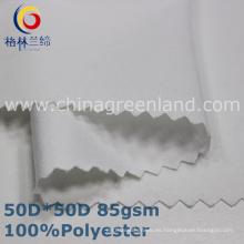 Tela de microfibra de poliéster de sarga para prendas de vestir (GLLML336)