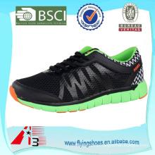 action black sport running shoes for men