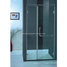 AS / NZS2208 Écran de douche à pivot pivotant standard australien en verre trempé (H010B)