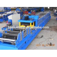 Máquina galvanizada de la espátula C / máquina galvanizada de la hoja Z Purlin Máquina / perfil del canal C Máquina trill