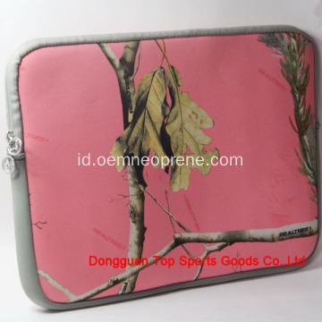 Pink Reusable Waterproof Kustom Neoprene Laptop Bags