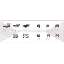 Spanplattenmöbel - Bett 2
